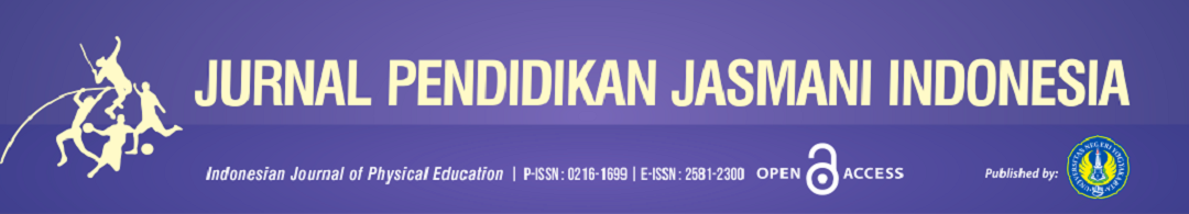Jurnal Pendidikan Jasmani Indonesia