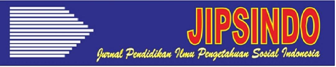 JURNAL PENDIDIKAN ILMU PENGETAHUAN SOSIAL INDONESIA