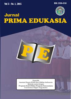 Jurnal Prima Edukasia