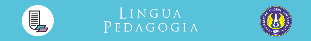 Lingua Pedagogia, Journal of English Teaching Studies
